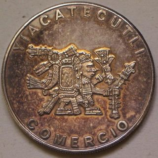 Coin Picture Of Obverse Of A 1 Ounce Silver Yiacatecutli